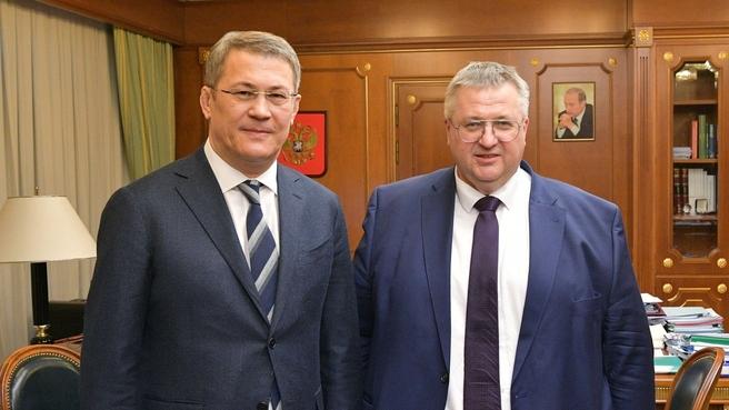 Алексей Оверчук провёл совещание по подготовке к проведению празднования 450-летия основания Уфы