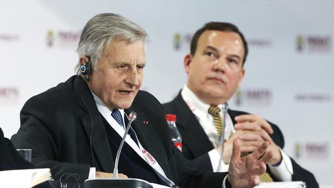 Председатель «Группы тридцати», председатель Европейского центрального банка в 2003–2011 годах Жан-Клод Трише и старший вице-президент The Coca-Сola Company Клайд Таггл