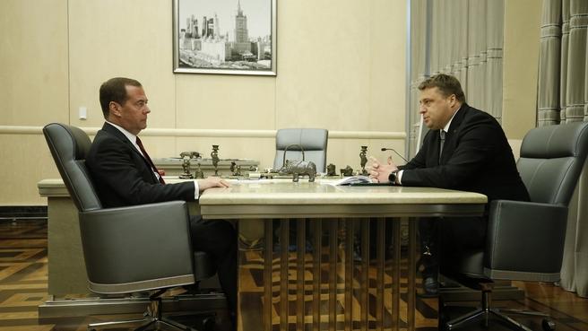 Встреча с генеральным директором АО «Росагролизинг» Павлом Косовым