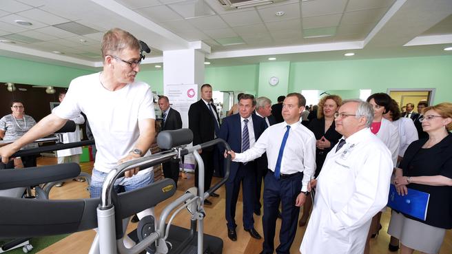 Посещение инновационного медико-технологического центра