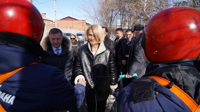 Рабочая поездка Виктории Абрамченко в Иркутскую область