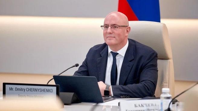 Дмитрий Чернышенко принял участие в коллегии Министерства спорта