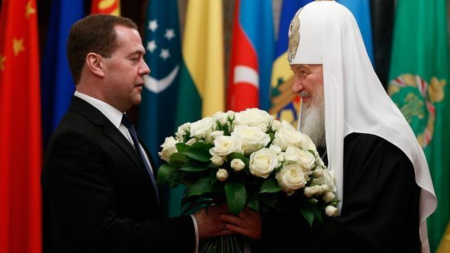 Поздравление Патриарха Московского и всея Руси Кирилла с шестой годовщиной интронизации