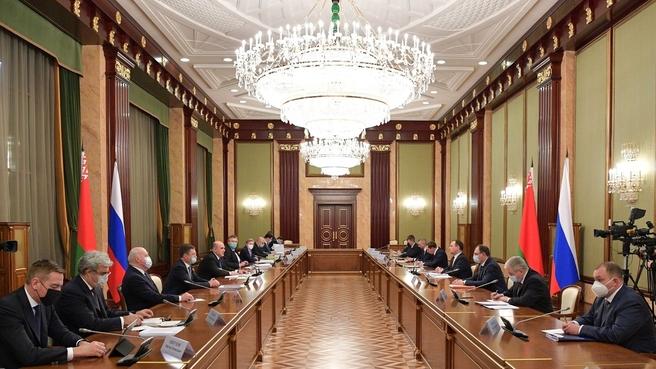Российско-белорусские переговоры