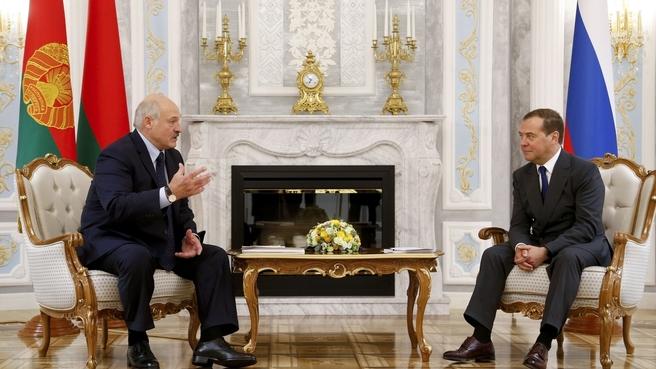Встреча с Президентом Республики Беларусь Александром Лукашенко