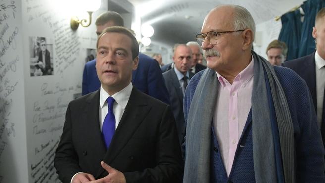 С кинорежиссёром Никитой Михалковым на VIII Санкт-Петербургском международном культурном форуме
