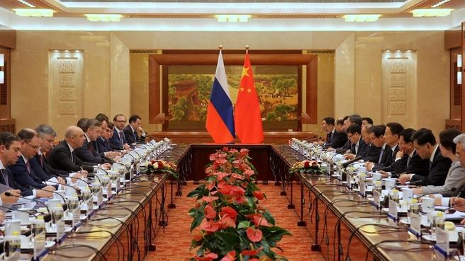 Антон Силуанов провёл шестое заседание Межправительственной Российско-Китайской комиссии по инвестиционному сотрудничеству