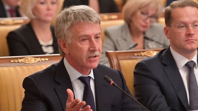 Сообщение председателя правления ПАО «Новатэк» Леонида Михельсона на заседании Правительства