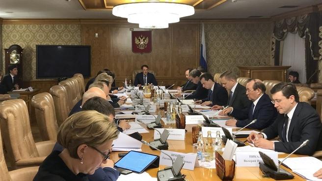 Заседание Правительственной комиссии по вопросам обращения с отходами производства и потребления