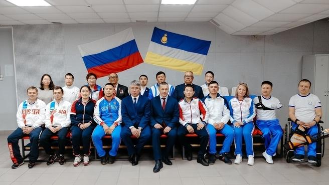 Со спортивными активистами Республики Бурятия