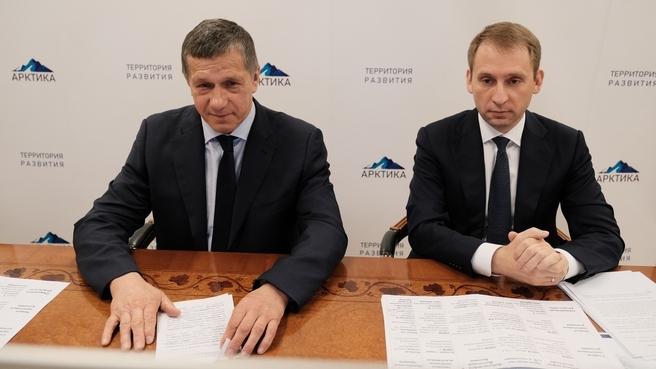 Пресс-конференция Юрия Трутнева