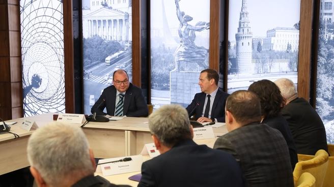 Встреча с членами Совета руководителей государственных информационных агентств СНГ