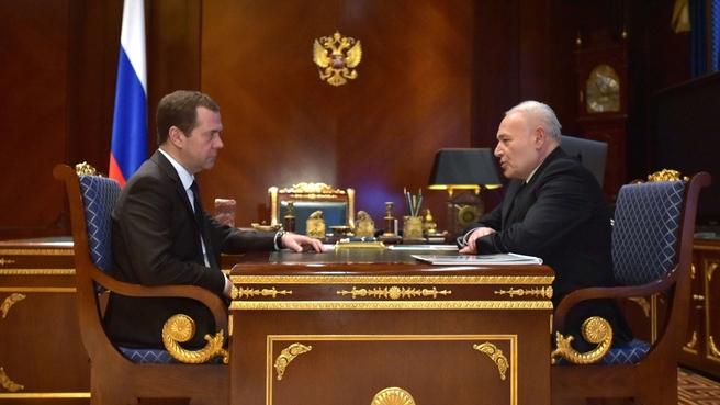 Встреча с губернатором Магаданской области Владимиром Печёным