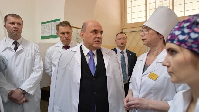 Посещение Окружной больницы Костромского округа №1. С сотрудниками гинекологического отделения больницы