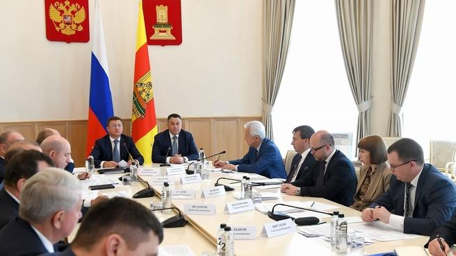 Александр Новак провёл совещание по газификации региона