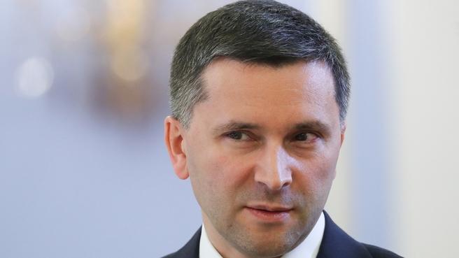 Дмитрий Кобылкин на заседании Правительства