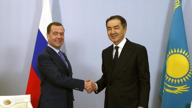 Встреча с Премьер-министром Республики Казахстан Бакытжаном Сагинтаевым