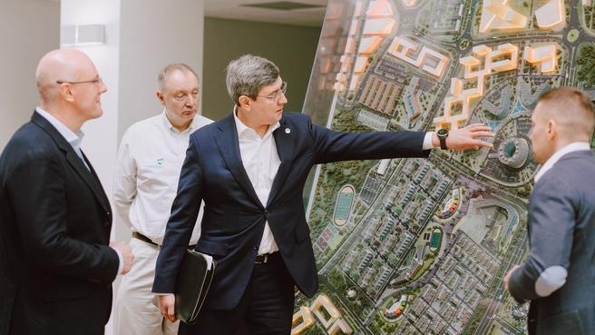 Рабочая поездка Дмитрия Чернышенко в Татарстан. Посещение Иннополиса