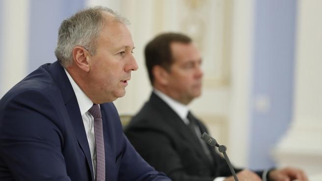 Заявление Сергея Румаса для прессы по завершении переговоров