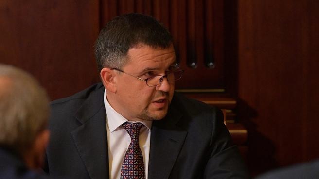 Сообщение Максима Акимова на совещании с вице-премьерами