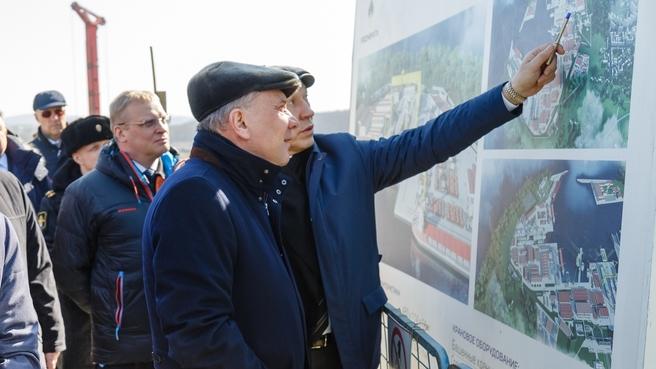 Рабочая поездка Юрия Борисова на Дальний Восток
