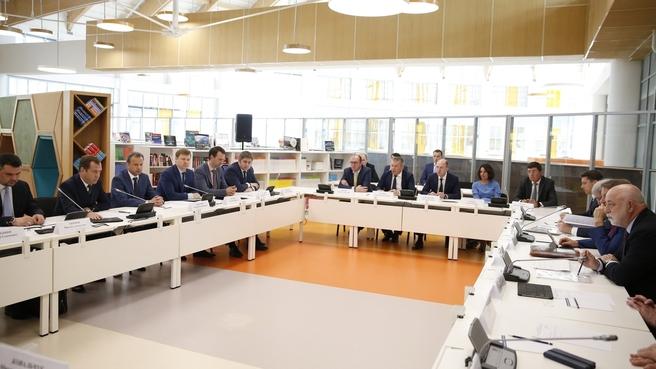 Встреча с членами Совета фонда «Сколково»