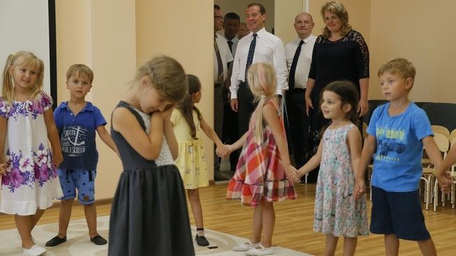 Посещение детского сада образовательного центра «Античный» в Севастополе