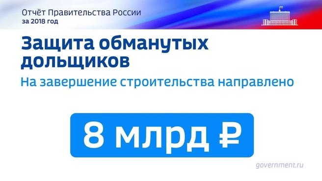 К отчёту о результатах деятельности Правительства России за 2018 год. Слайд 36