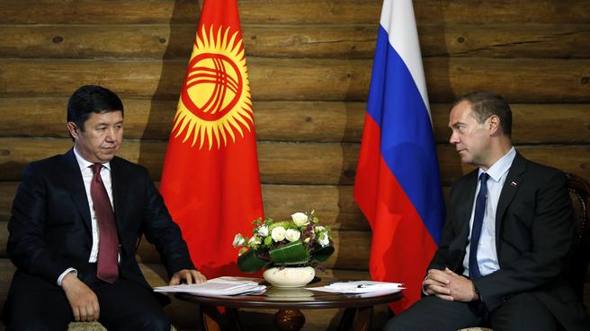 Встреча с Премьер-министром Киргизии Темиром Сариевым