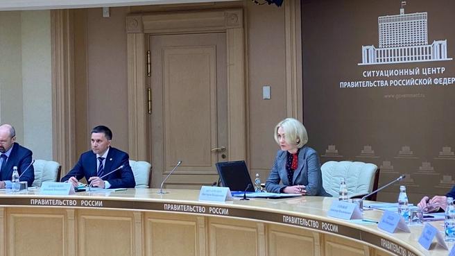 Виктория Абрамченко провела селекторное совещание с главами регионов