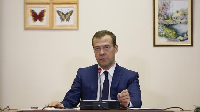 Вступительное слово Дмитрия Медведева на совещении об организации детского отдыха и оздоровления