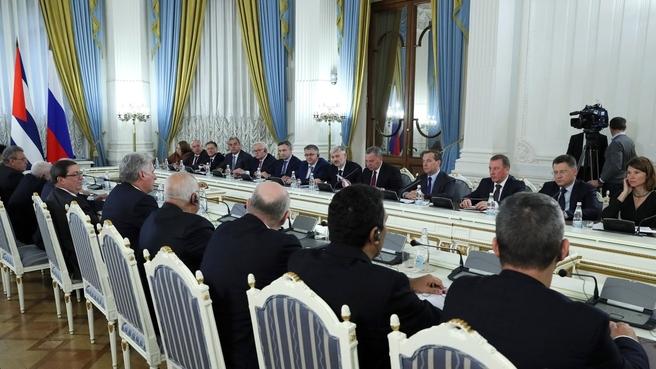 Встреча с Президентом Республики Куба Мигелем Диас-Канелем Бермудесом