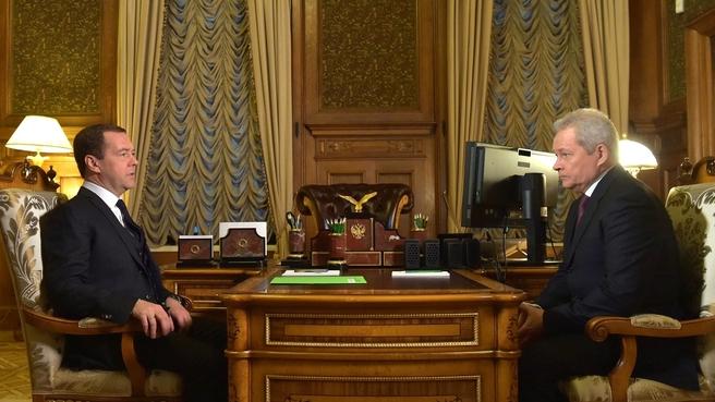 Встреча с руководителем Ространснадзора Виктором Басаргиным