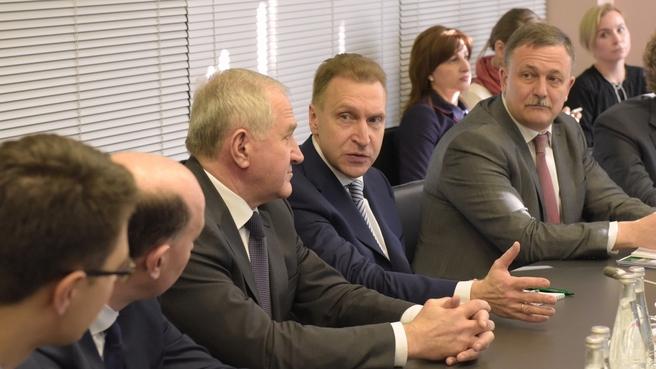 Игорь Шувалов посетил Центр оперативного мониторинга и управления рисками ФТС России