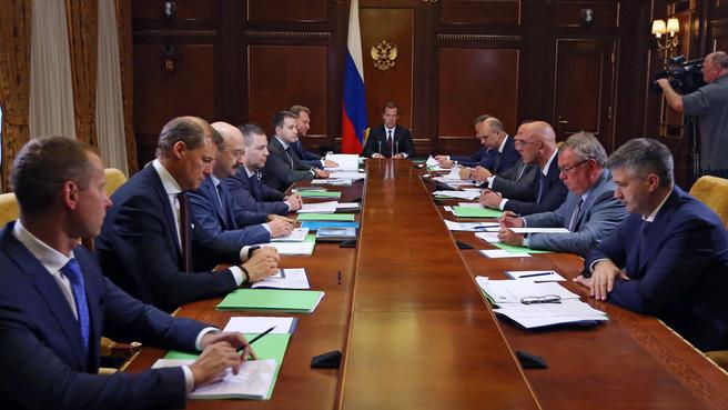 Совещание о перспективах развития «Почты России»