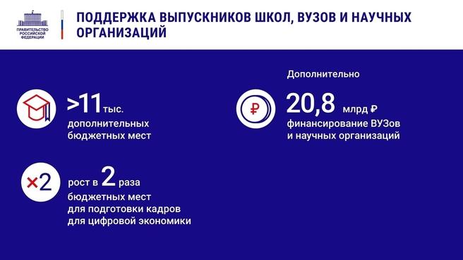 К отчёту о  деятельности Правительства России за 2020 год. Слайд 14