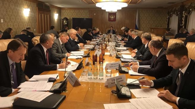 Заседание российской части Российско-Монгольской Межправительственной комиссии по торгово-экономическому и научно-техническому сотрудничеству