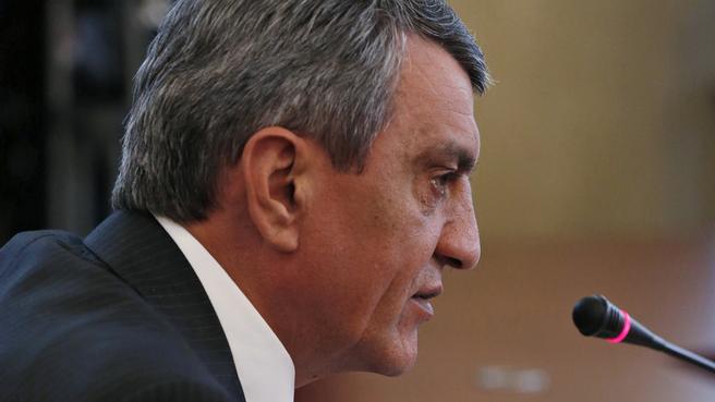 Сообщение губернатора Севастополя Сергея Меняйло на совещании с вице-премьерами