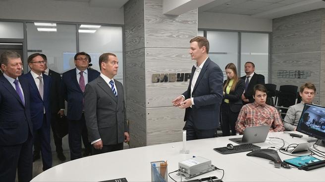 Посещение ПАО «СИБУР Холдинг»