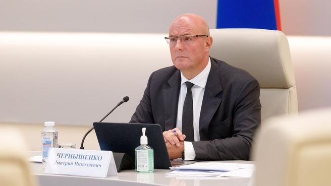Дмитрий Чернышенко на совещании по подготовке системы высшего образования к новому учебному году