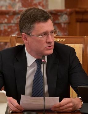 Сообщение Александра Новака на заседании Правительства