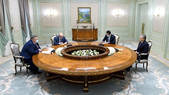 Рабочий визит Алексея Оверчука в Республику Узбекистан