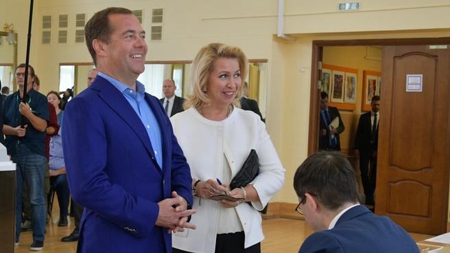 Голосование на выборах депутатов Московской городской Думы седьмого созыва