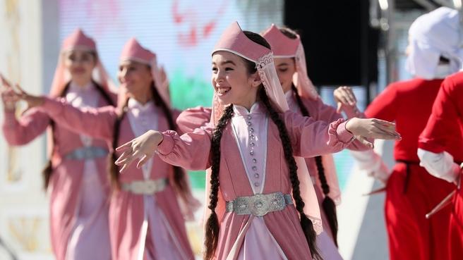 Торжественные мероприятия на ВДНХ, посвящённые празднованию Дня Москвы