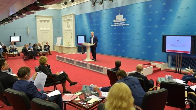 Выступление мэра Москвы Сергея Собянина на заседании стратегической сессии Координационного совета по борьбе с коронавирусной инфекцией