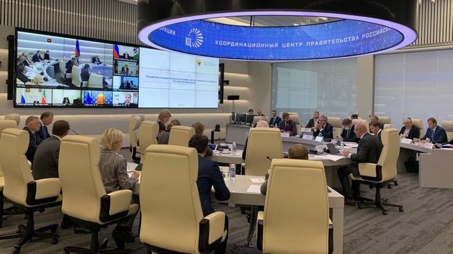 Заседание Правительственной комиссии по научно-технологическому развитию
