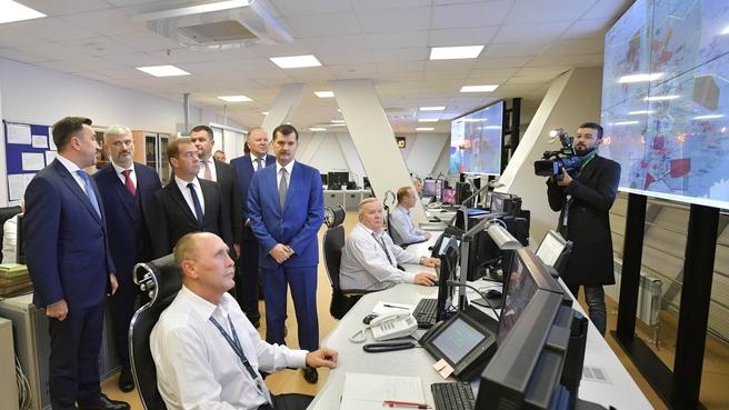 Посещение Екатеринбургского укрупнённого центра Единой системы организации воздушного движения