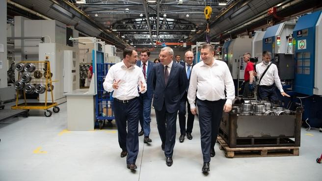 Посещение машиностроительных предприятия в Санкт-Петербурге