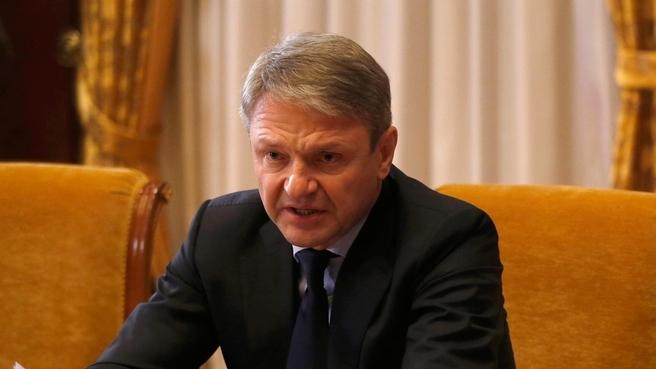 Доклад Александра Ткачёва на селекторном совещании о ходе весенних полевых работ