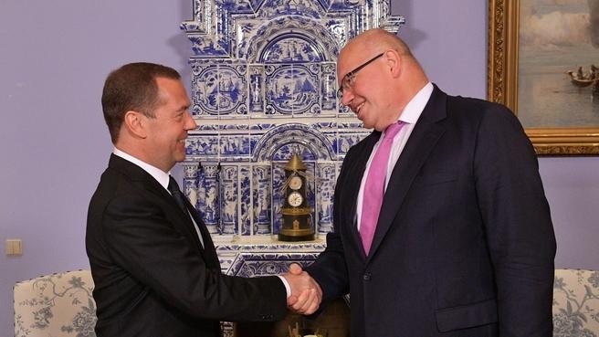 Встреча с Министром экономики и энергетики Федеративной Республики Германии Петером Альтмайером